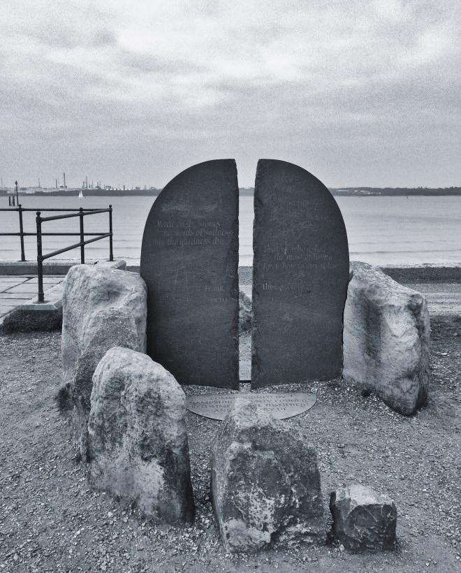 The D-Day memorial
