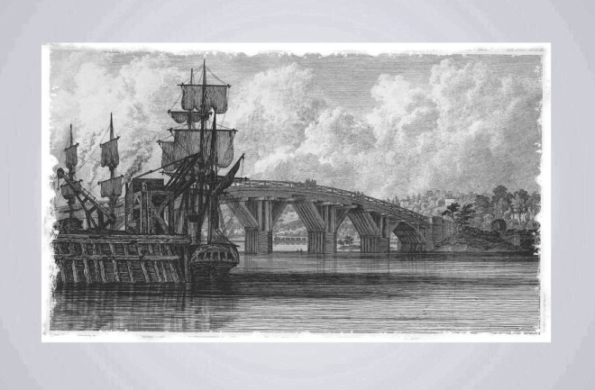 The original Northam Bridge