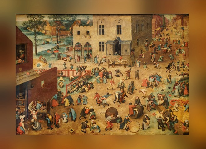 Children's Games. Pieter Bruegel the Elder (1560)