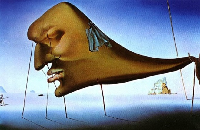 One of my Dali prints just about sums it up