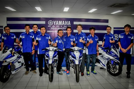 Launching Yamaha Racing Team Indonesia 2014-