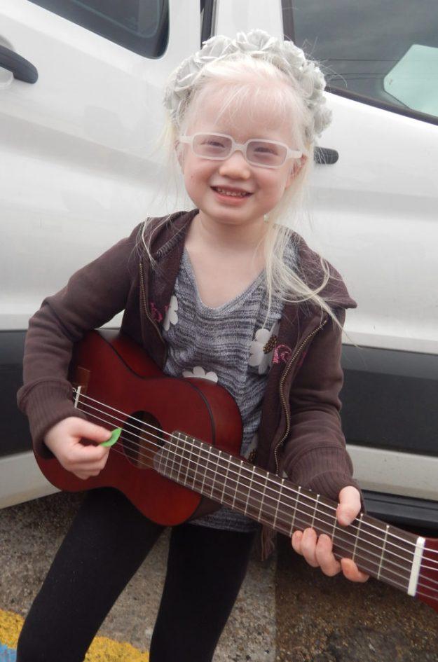Ava's New Guitar