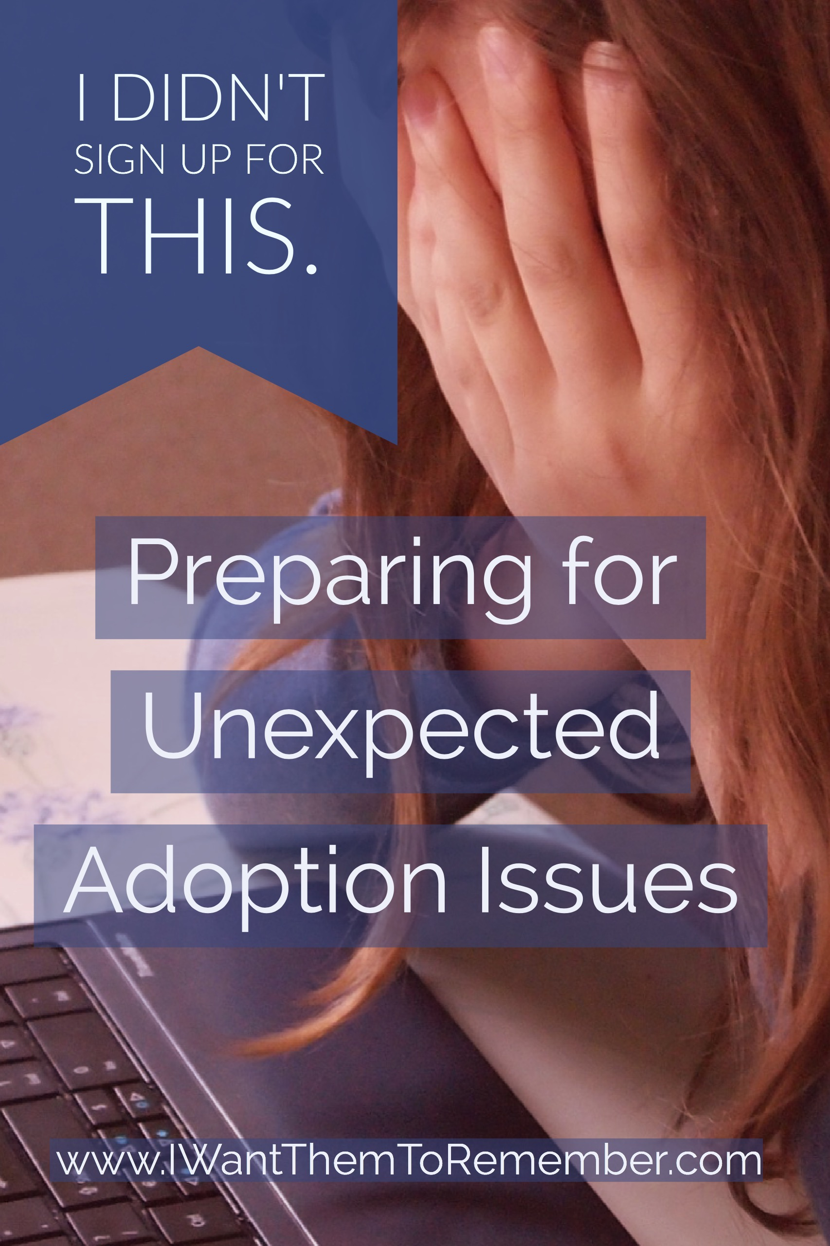 Are you considering adoption? Unexpected adoption issues are inevitable, but don't let the unknowns hold you back. Prepare as much as you can, but remember only God knows the future of any child, and He will love that child through you.
