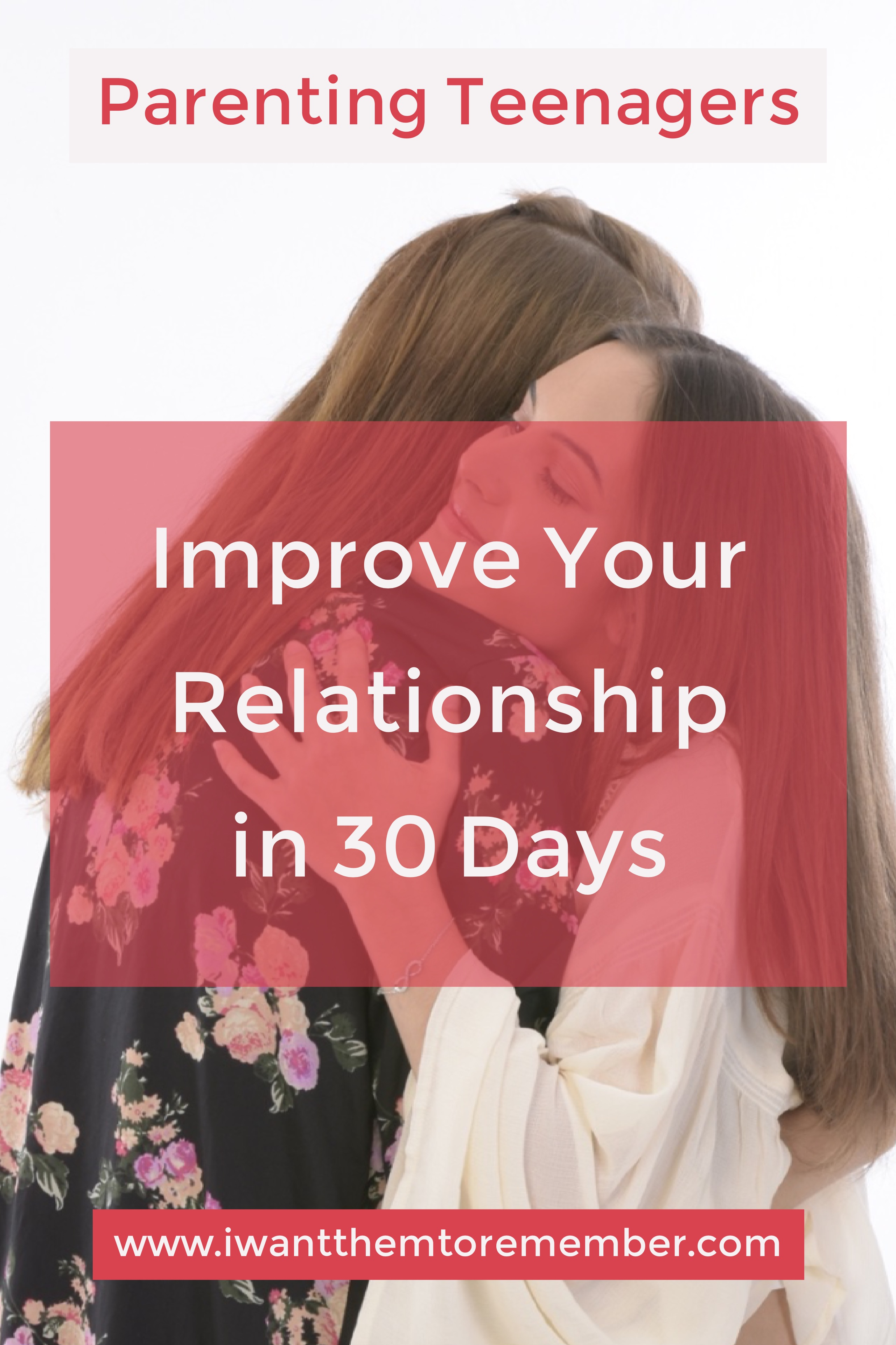 The hardest place to live out our faith is at home. Parenting teenagers has made working on family relationship both harder and more important. 30 Days: Turning the Hearts of Parents and Teenagers Toward Each Other helps build stronger relationships.