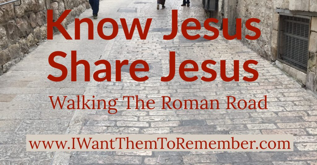 Know Jesus share Jesus