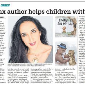 Angela Campagnoni, Chronicle Herald, I Want To See My Papa