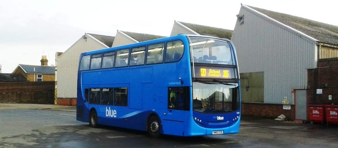The Bus Depot – Ryde – Vectis Blue fleet