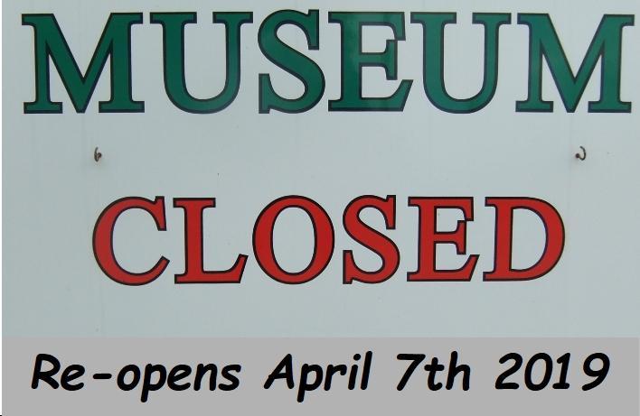 MUSEUM  OPENING DATES