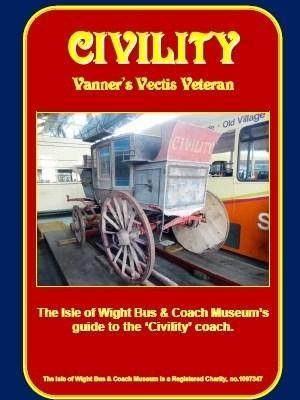 Civility-vanners vectis veteran Guide-Book isle of wight bus museum