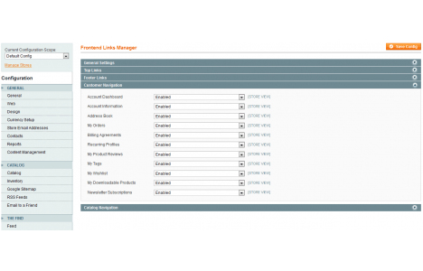 Magento Link Manager Plugin