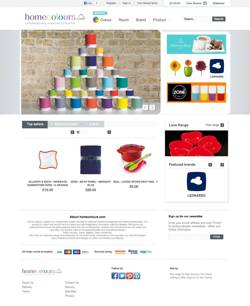 Magento proves to be a brighter idea for homeware specialists