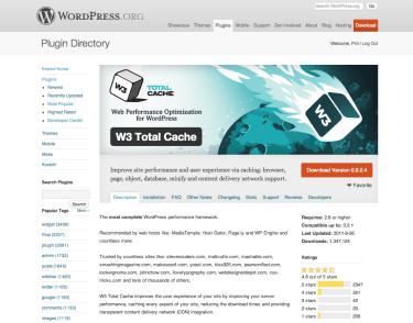 WordPress-›-W3-Total-Cache-«-WordPress-Plugins