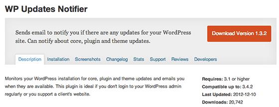 wp-updates-notifier