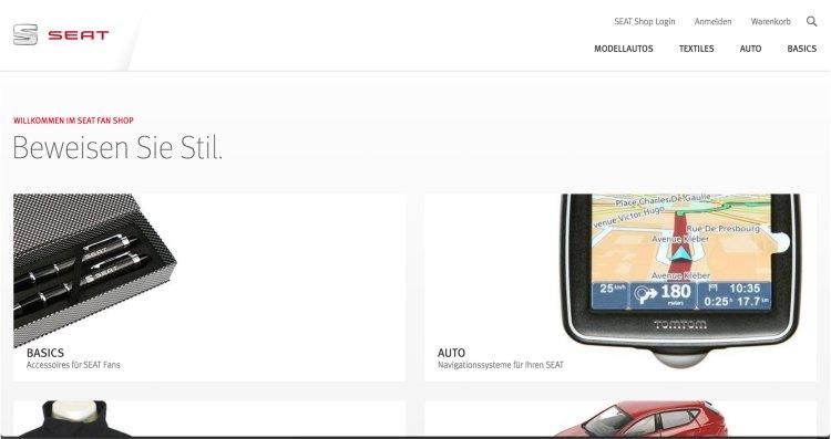shopworld.seat.de   websites using Magento 2