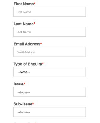Design of forms | Principles of Mobile Website Design