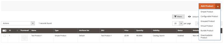 Magento 2 V Magento 1 | Product Menu | iWeb
