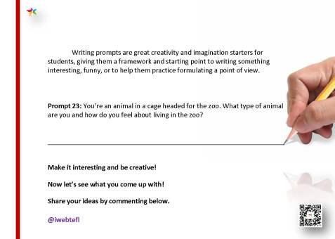 @iwebtefl Writing Prompts 23