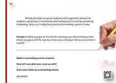 @iwebtefl Writing Prompts 6
