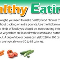 Steps to a Healthier You and Examples of Eating Healthier