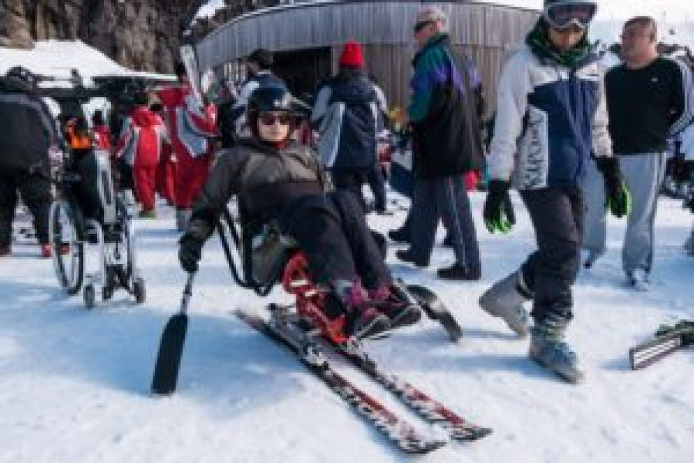 ski handicap dualski