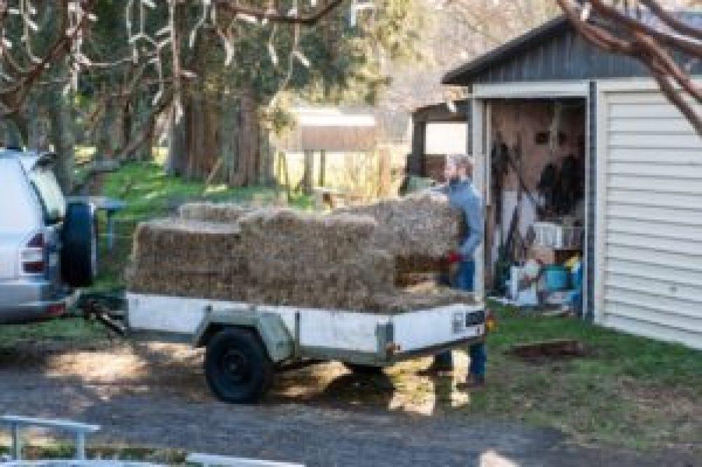 Le travail à la ferme.