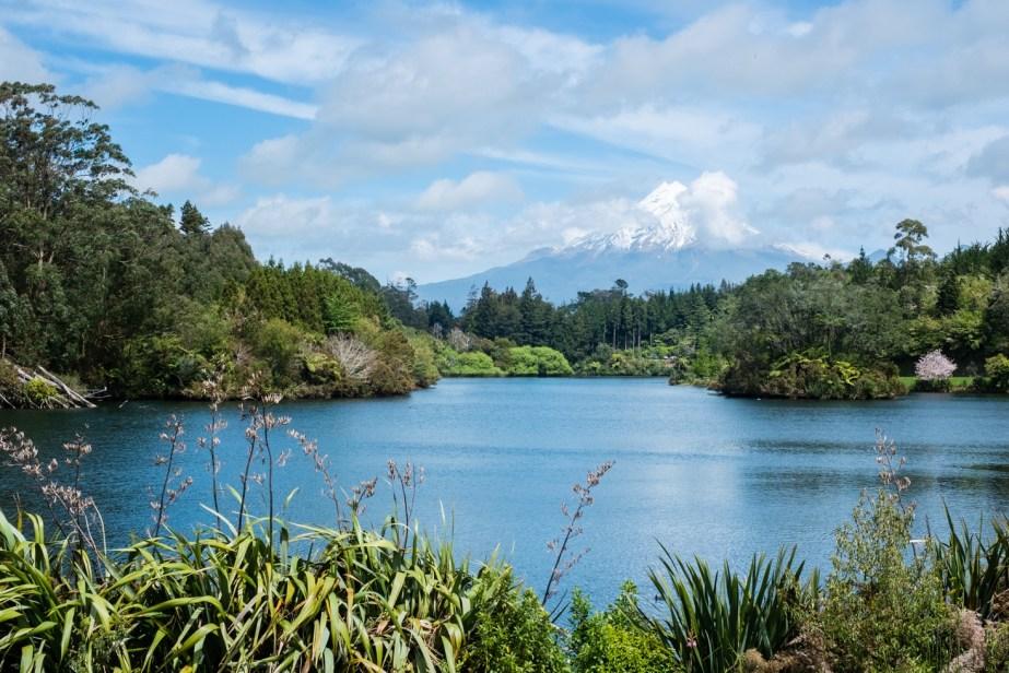 Le mont Taranaki dans toute sa splendeur.