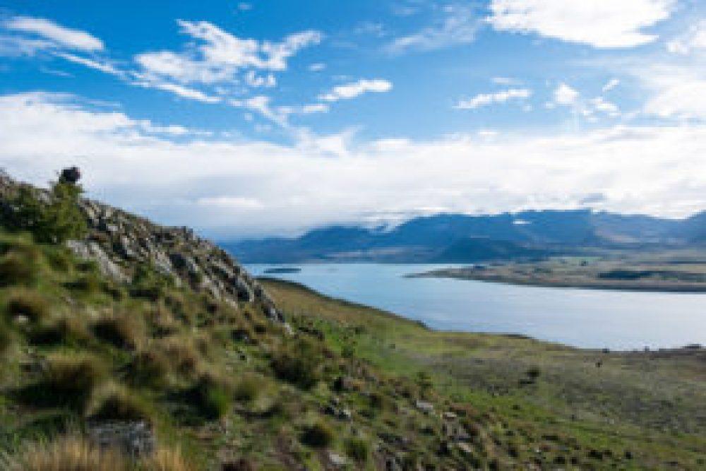 Petite vue sympa pendant l'ascension du Mont John.