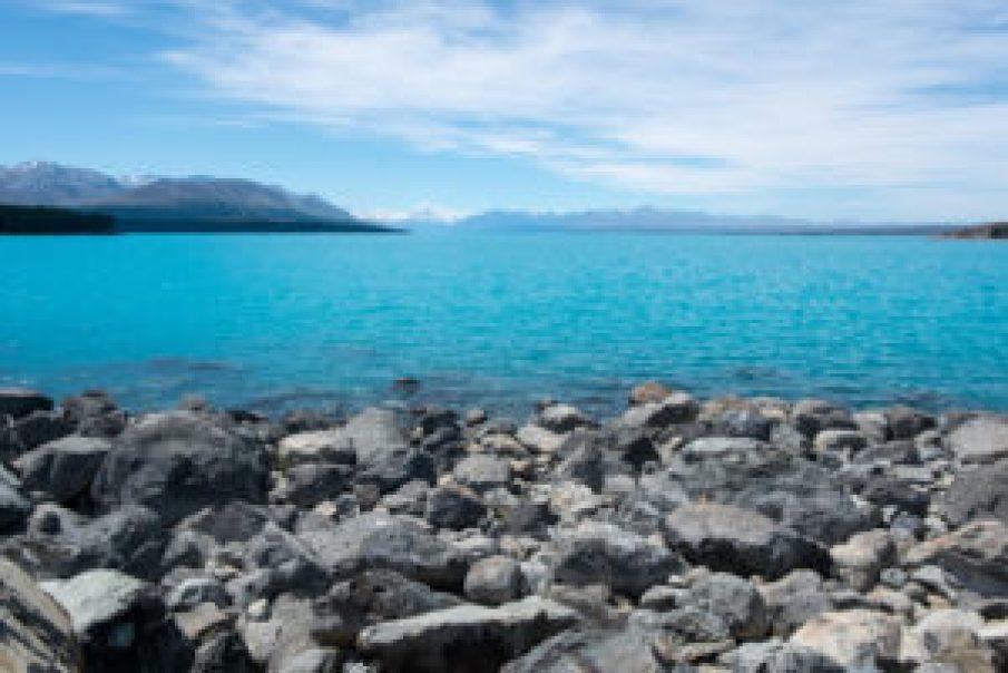 Le lac Pukaki, si captivant.