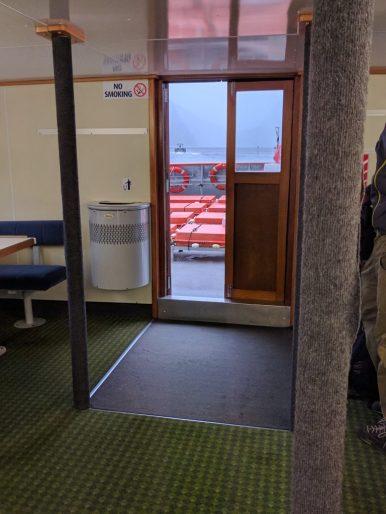 Toutes les portes ont des gros rebords.