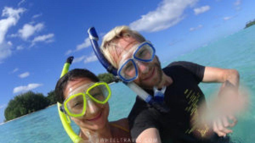 Faire du snorkelling toujours avec style !