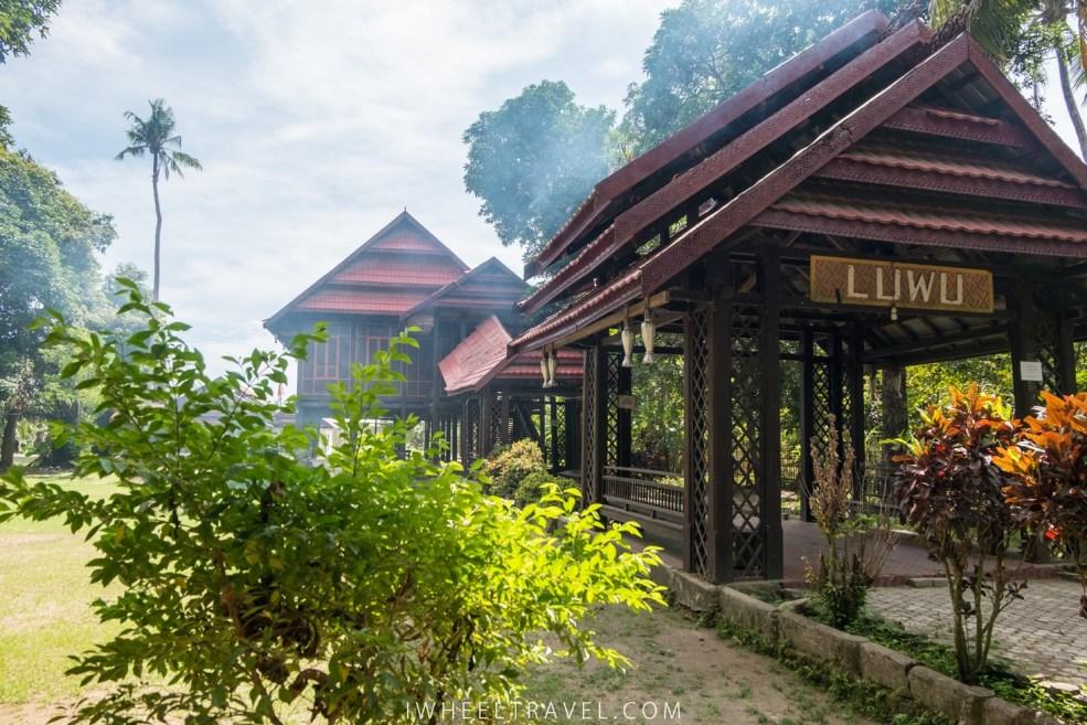 Maison traditionnelle de la région de Luwu.