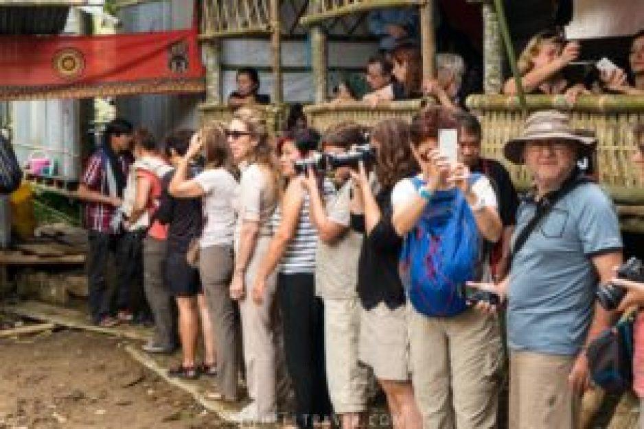 Et voila ce que ça donne du côté des touristes !