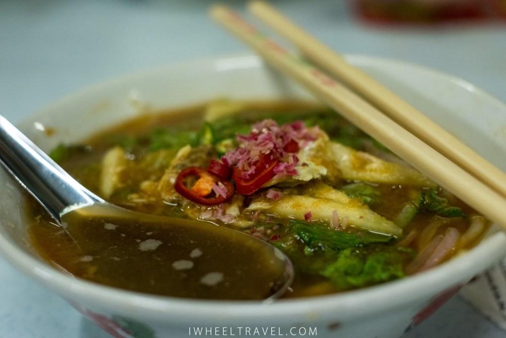 The delicious Assam Laksa