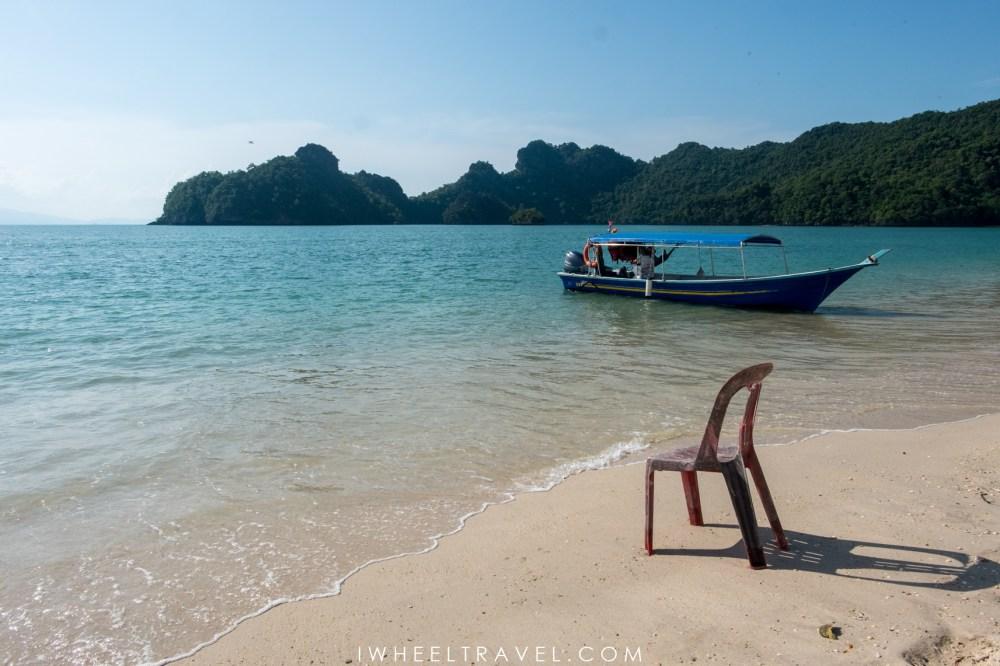 La plage Tanjung Rhu.