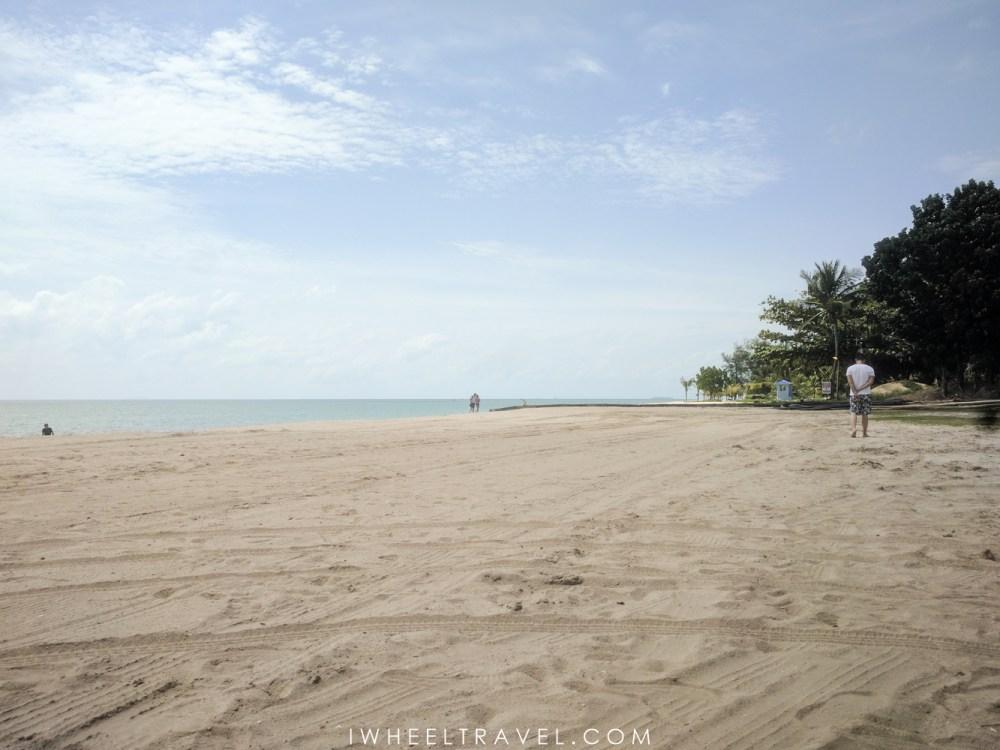 La plage dePantai Kok Langkawi.