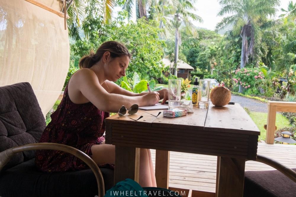 Après une visite aux îles Cook, je note ce que j'ai constaté au niveau de l'accessibilité avant d'oublier.