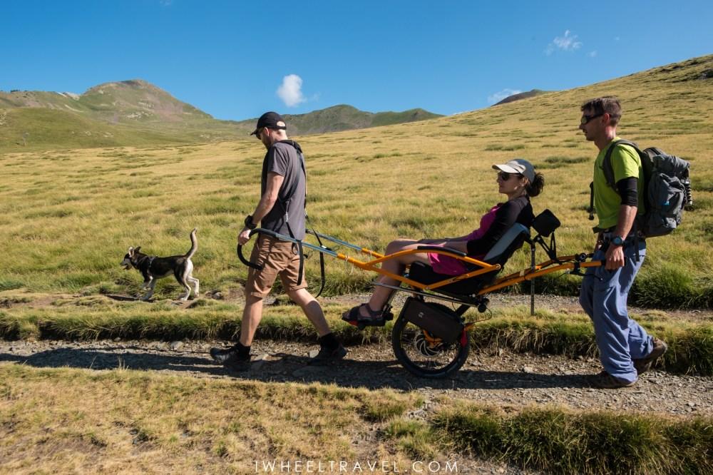 randonnée handicap joëlette montagne