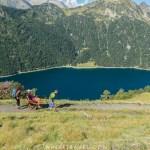 Lac de l'Oule GR10 joëlette