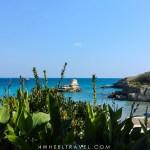 San Andrea pouilles plage fauteuil roulant