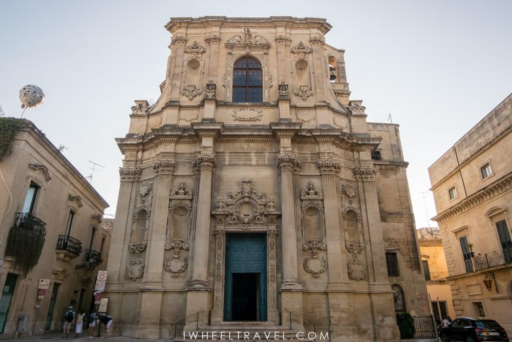Chiesa di Santa Chiara, Lecce.