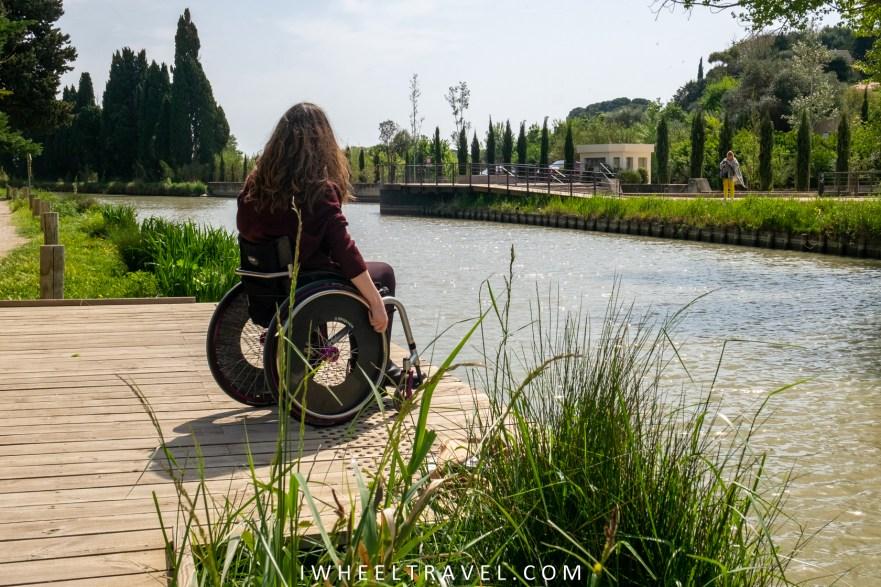 9 écluses fonseranes fauteuil roulant