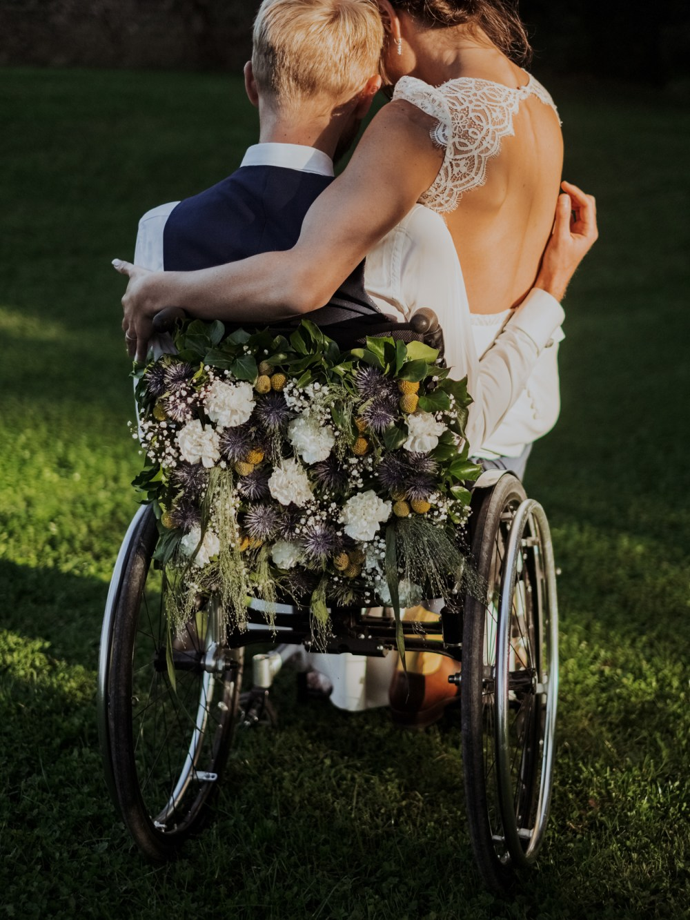 Mariage fauteuil roulant