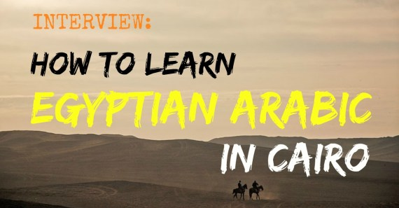 how to learn egyptian arabic in cairo