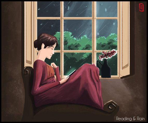 reading__and_rain___jane_austen_by_manuel2k10-d8bdbpn