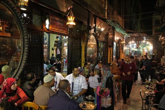 cairo night cafe