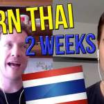 "Introducing: 2 Week ""Learn Thai"" Challenge … In Bangkok!"