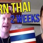 "Introducing: 2 Week ""Learn Thai"" Challenge … In Bangkok!"