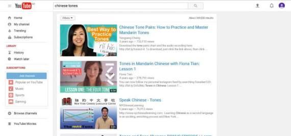 chinese tones youtube