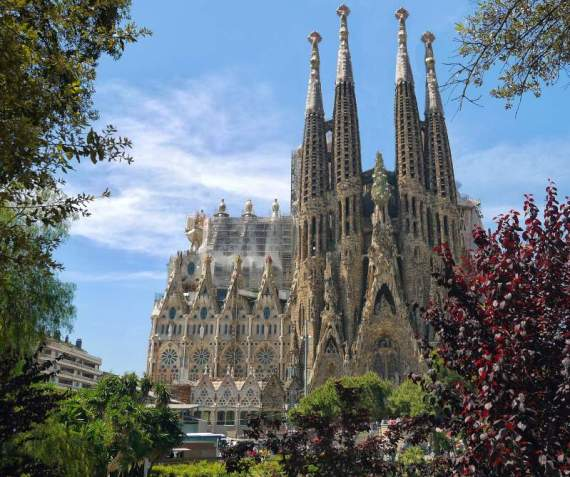 la sagrada familia barcelona spain common spanish phrases