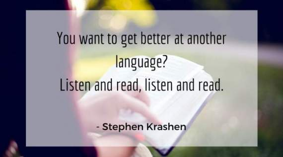stephen krashen reading